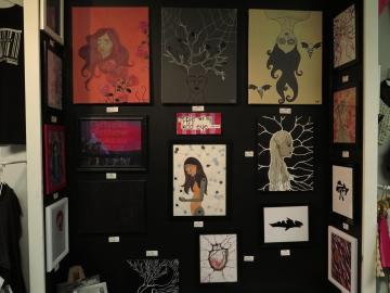 Apple of my Odd Eye's Arts Market stall